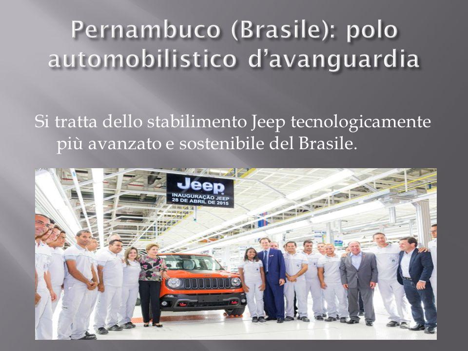 Pernambuco (Brasile): polo automobilistico d'avanguardia