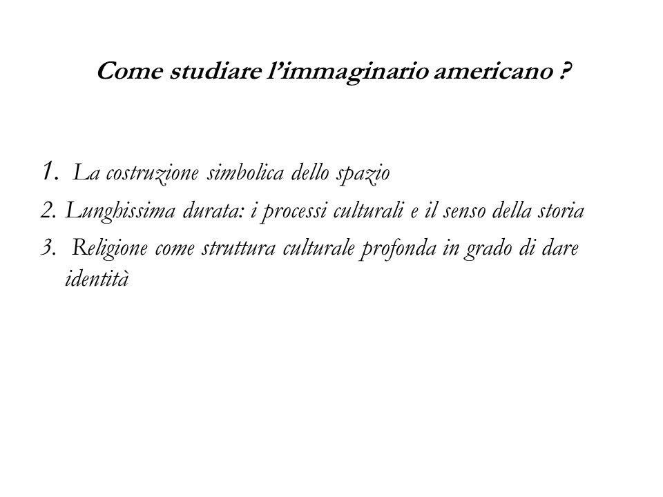 Come studiare l'immaginario americano