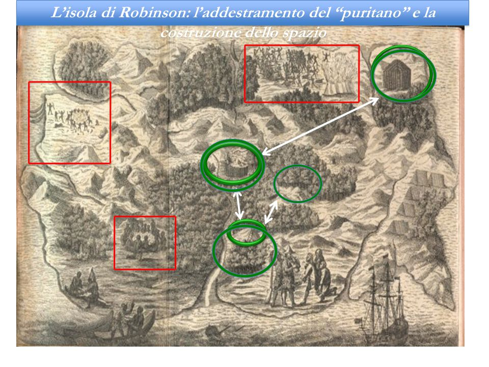 L'isola di Robinson: l'addestramento del puritano e la costruzione dello spazio