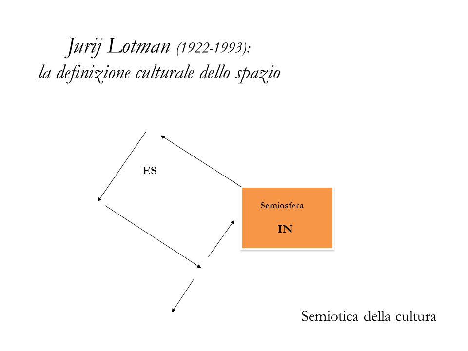 Jurij Lotman (1922-1993): la definizione culturale dello spazio
