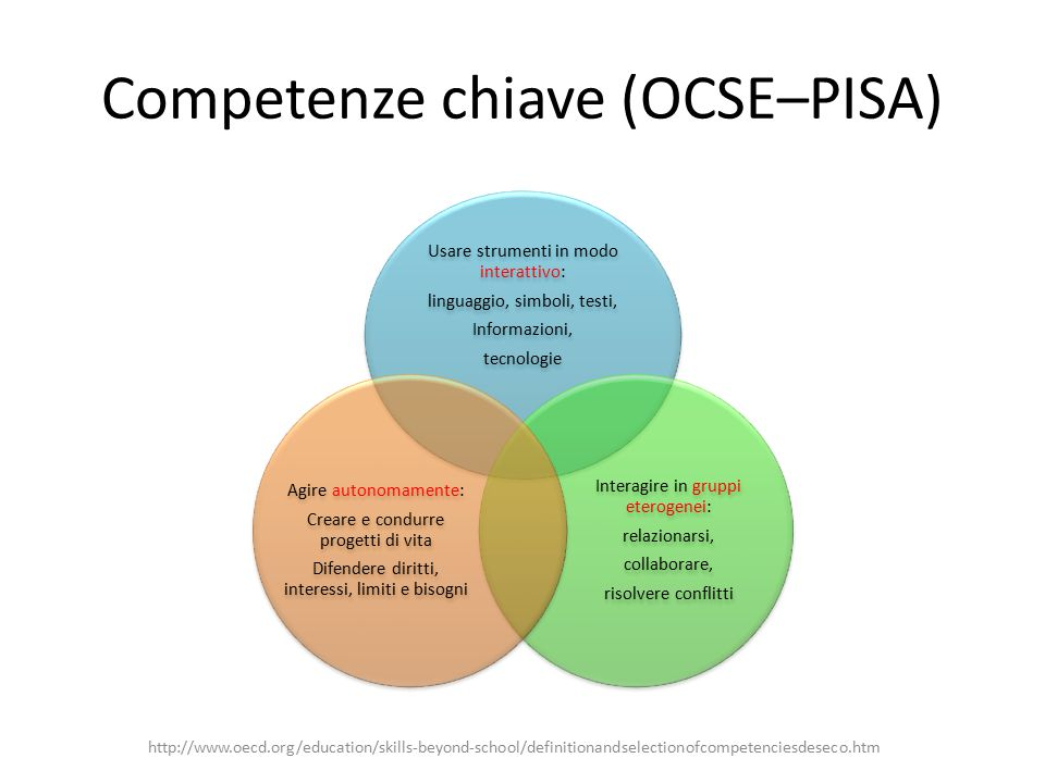 Competenze chiave (OCSE–PISA)