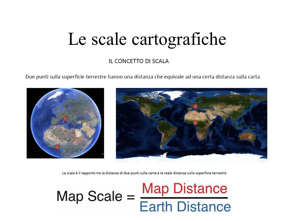 Le scale cartografiche