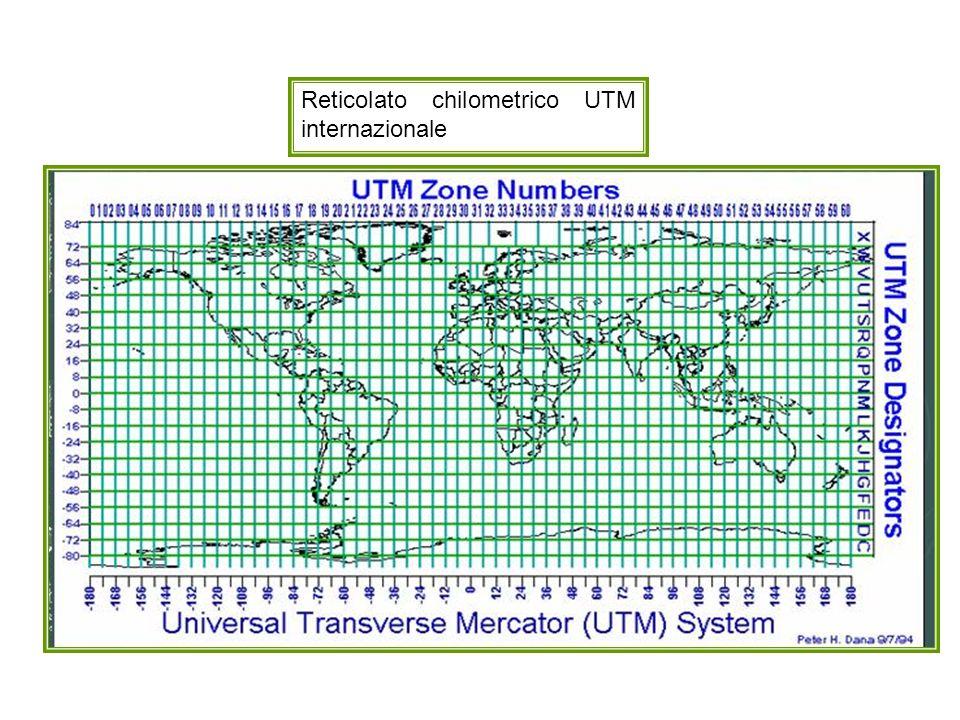 Reticolato chilometrico UTM internazionale