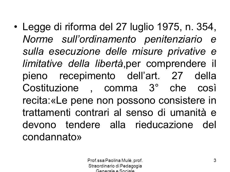 Legge di riforma del 27 luglio 1975, n