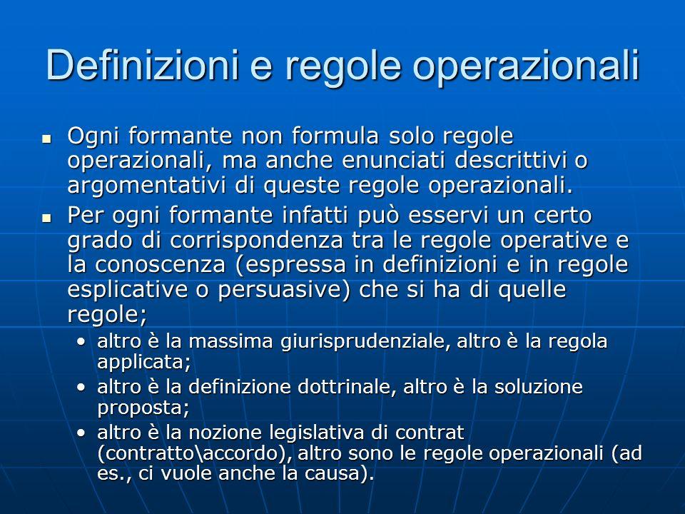 Definizioni e regole operazionali