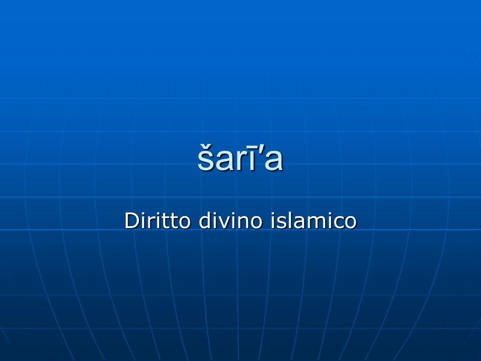 Diritto divino islamico