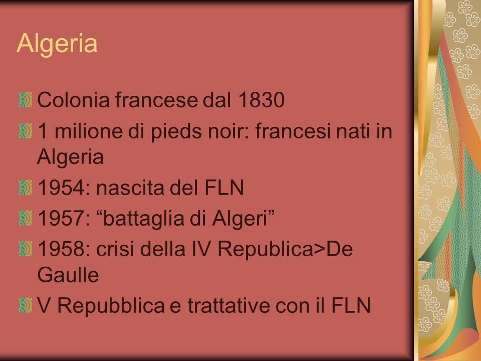Algeria Colonia francese dal 1830