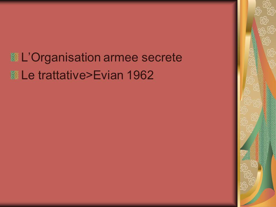 L'Organisation armee secrete