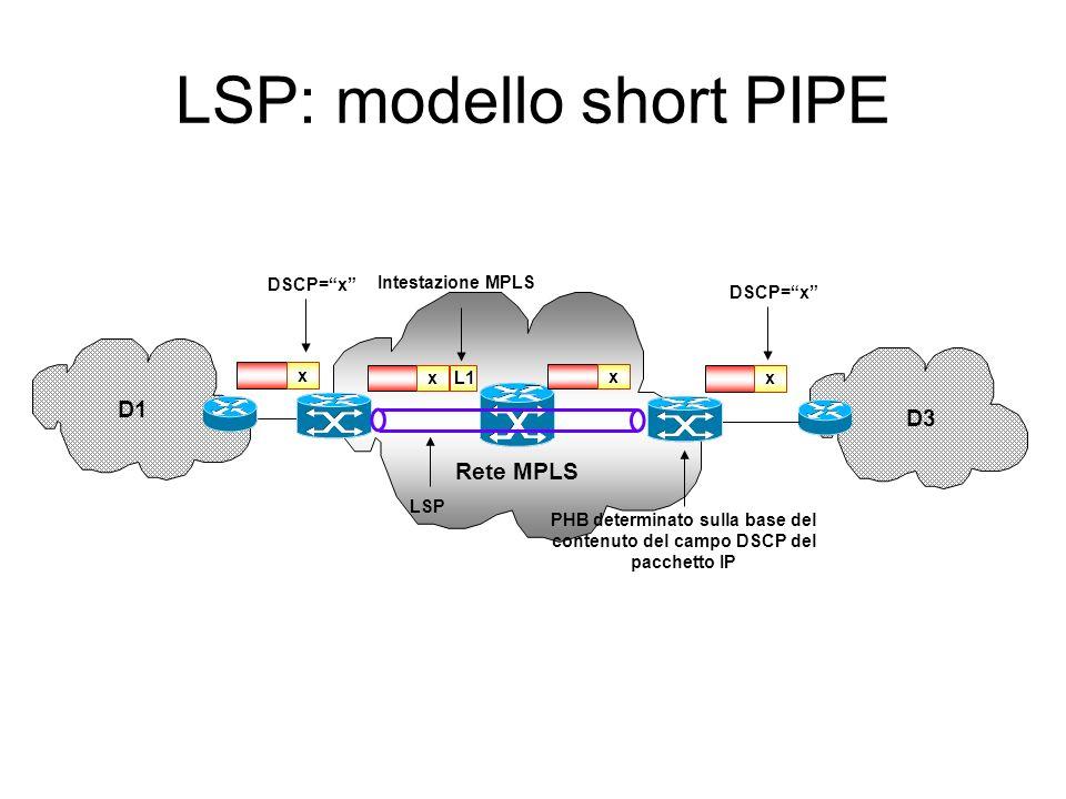 LSP: modello short PIPE