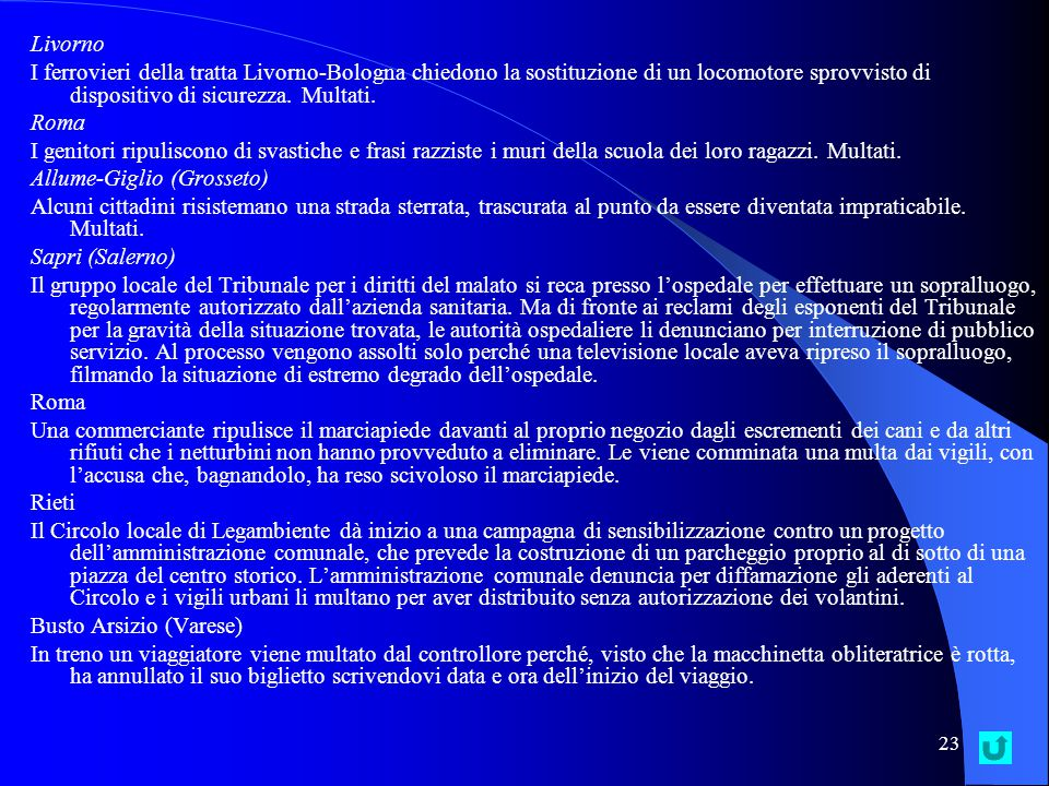Livorno I ferrovieri della tratta Livorno-Bologna chiedono la sostituzione di un locomotore sprovvisto di dispositivo di sicurezza. Multati.