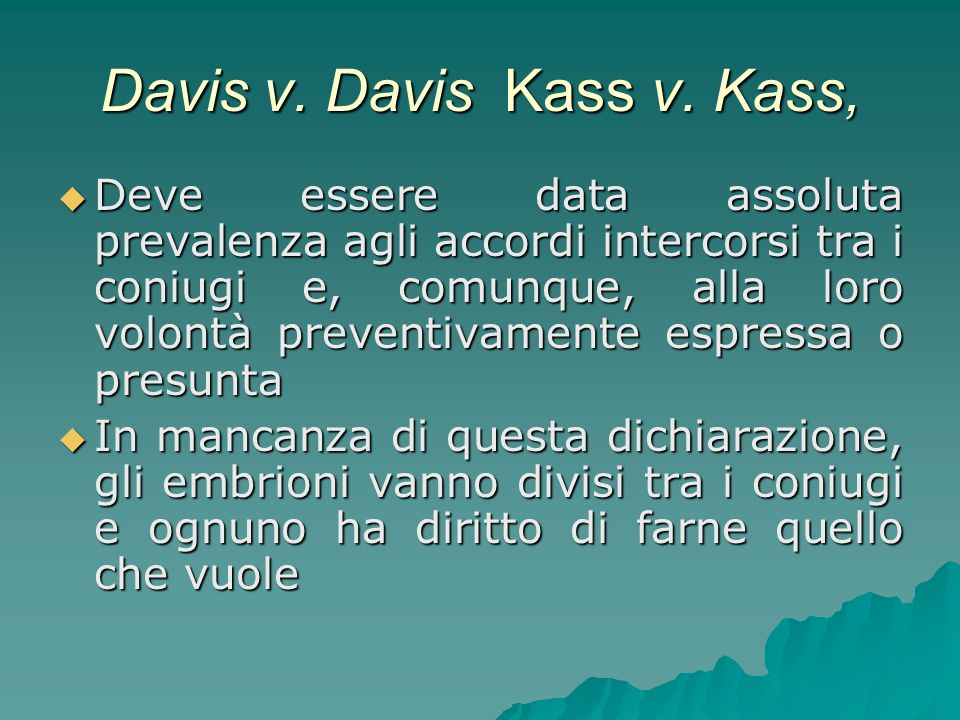 Davis v. Davis Kass v. Kass,