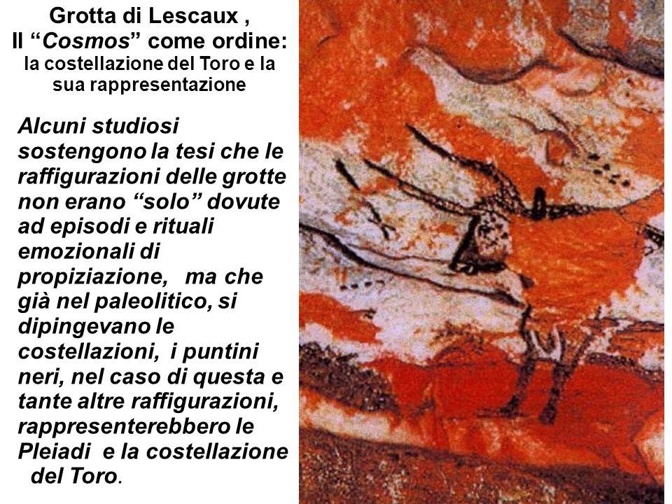 Grotta di Lescaux , Il Cosmos come ordine: