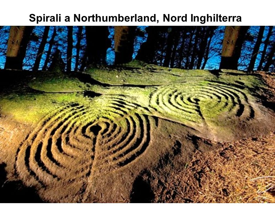 Spirali a Northumberland, Nord Inghilterra