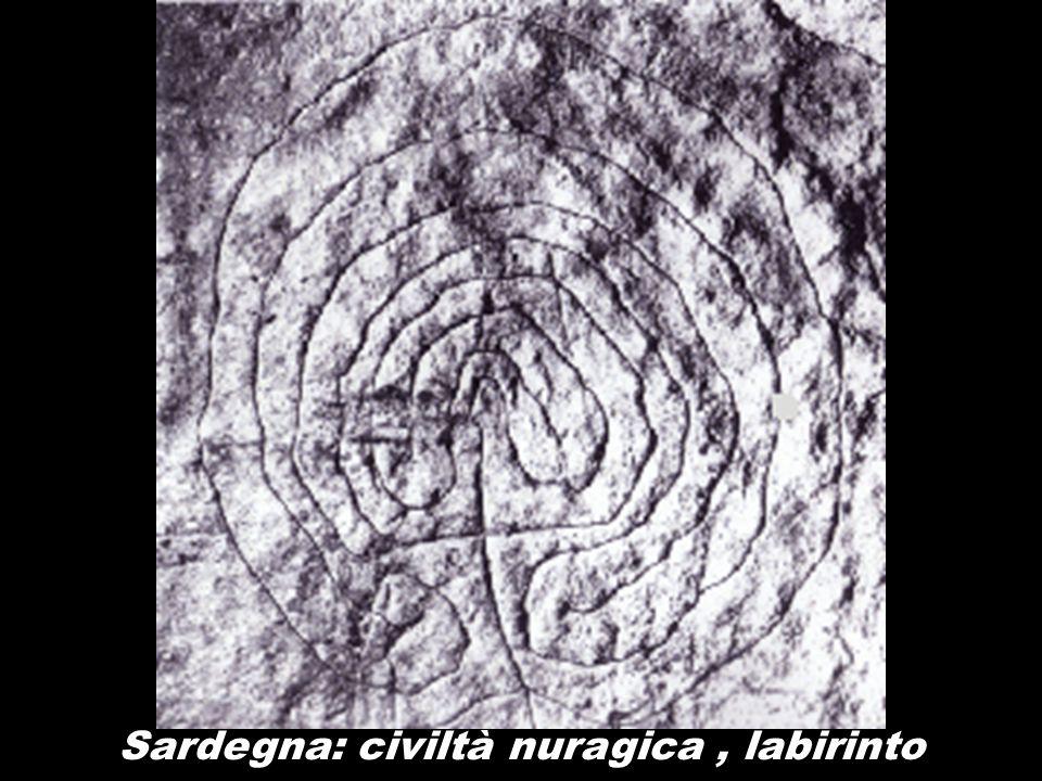 Sardegna: civiltà nuragica , labirinto