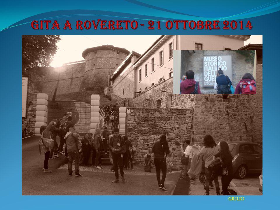 GITA A ROVERETO - 21 Ottobre 2014