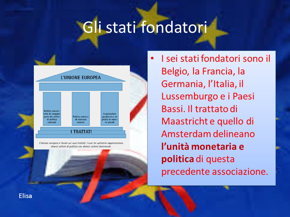 Gli stati fondatori