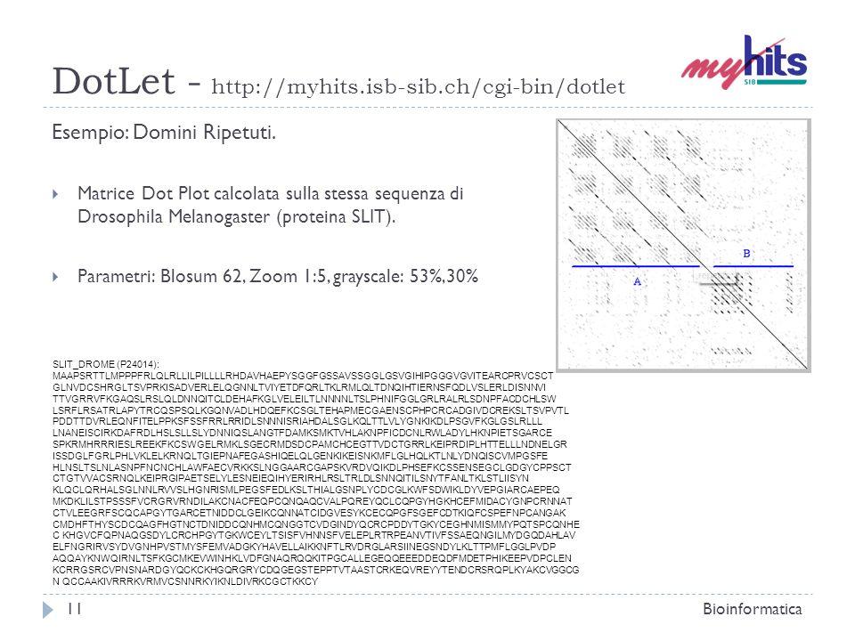 DotLet - http://myhits.isb-sib.ch/cgi-bin/dotlet