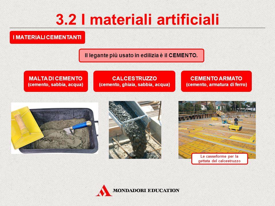 3.2 I materiali artificiali