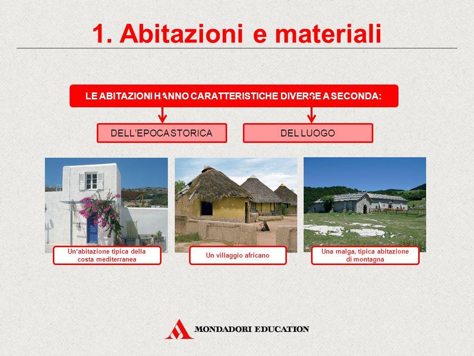 1. Abitazioni e materiali