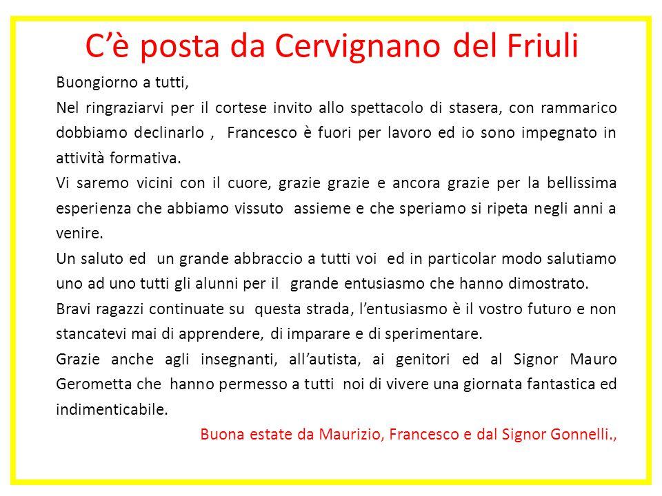 C'è posta da Cervignano del Friuli
