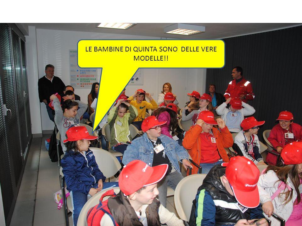 LE BAMBINE DI QUINTA SONO DELLE VERE MODELLE!!