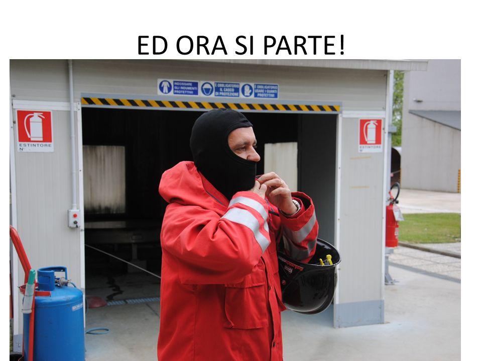 ED ORA SI PARTE!