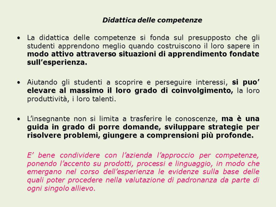 Didattica delle competenze