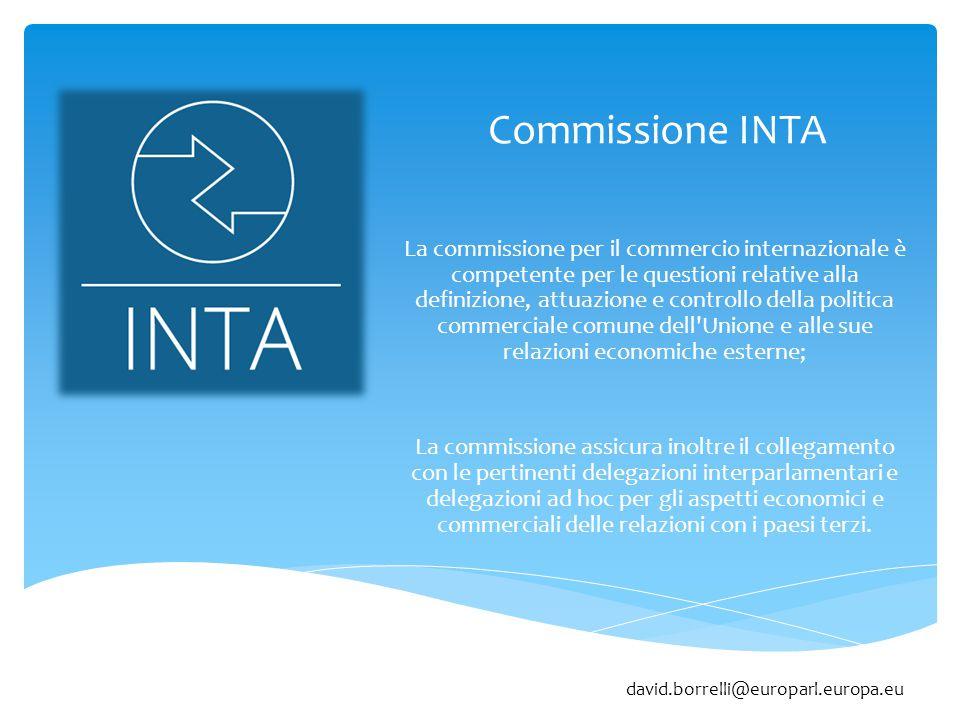 Commissione INTA