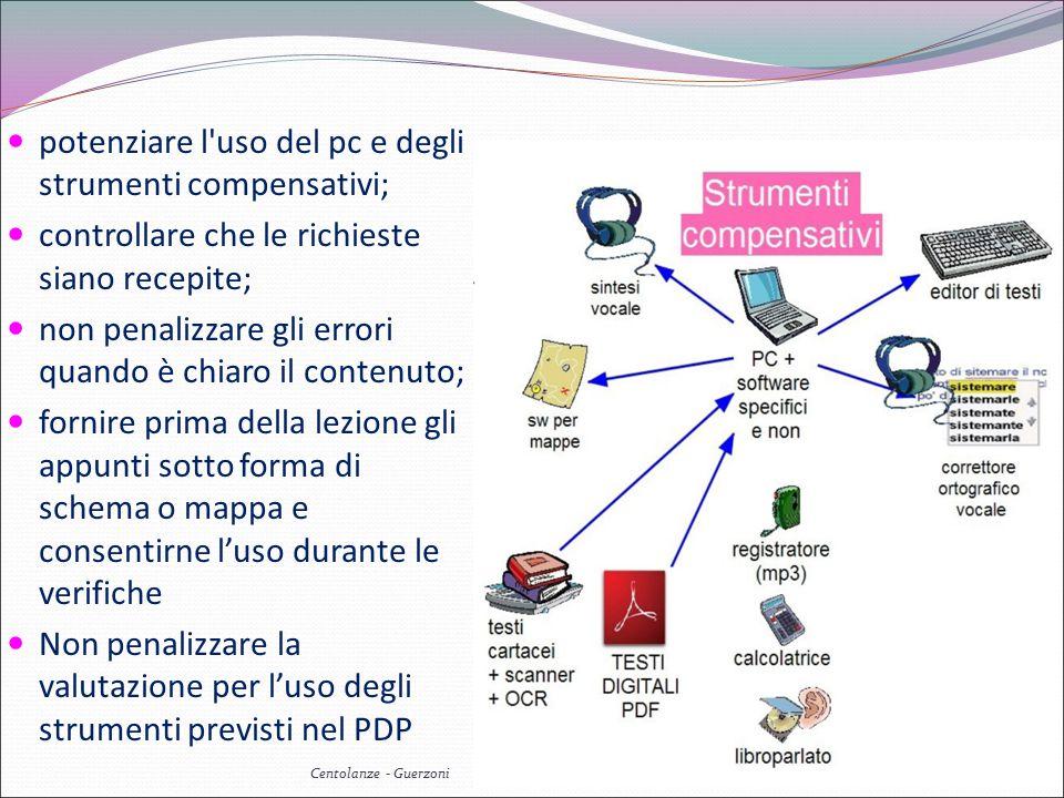 potenziare l uso del pc e degli strumenti compensativi;