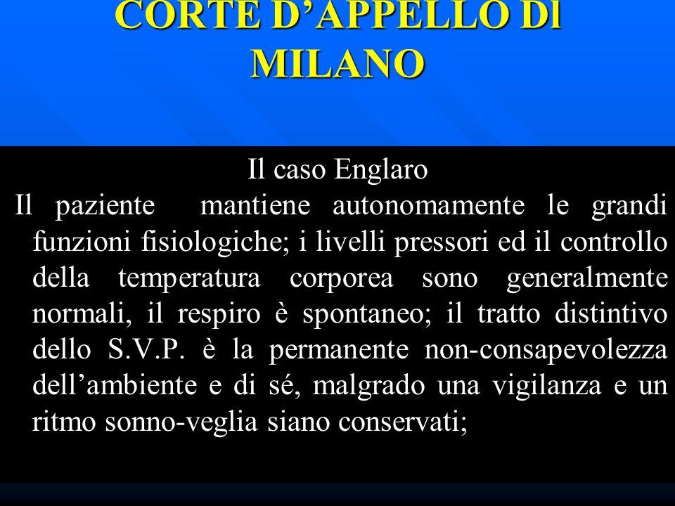 CORTE D'APPELLO Dl MILANO