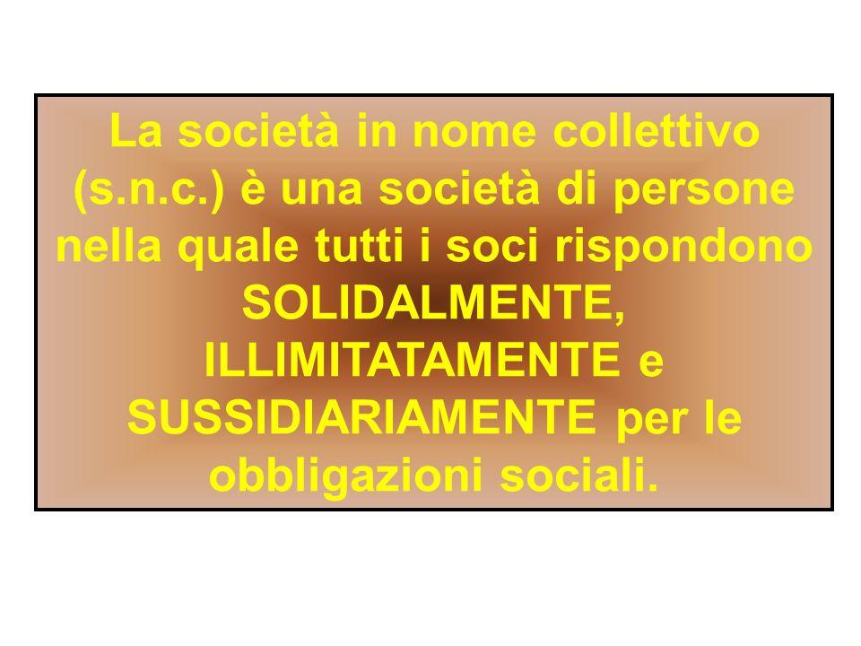 La societa semplice ppt scaricare for Giardino e nome collettivo