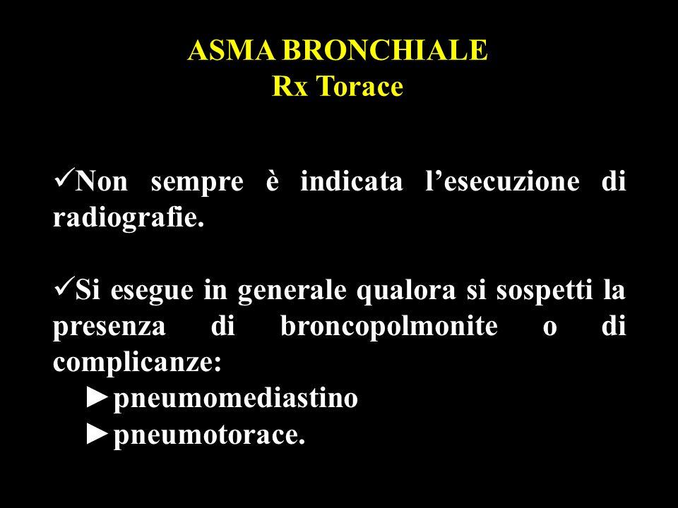 ASMA BRONCHIALE Rx Torace
