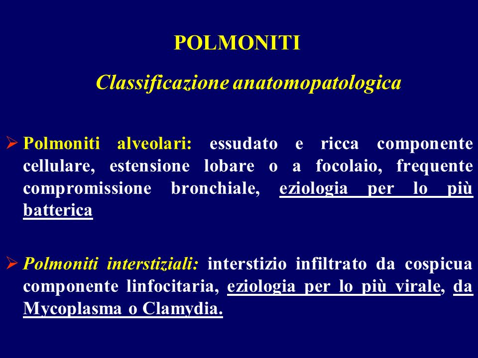 Classificazione anatomopatologica
