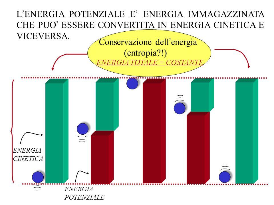 Conservazione dell'energia (entropia !)