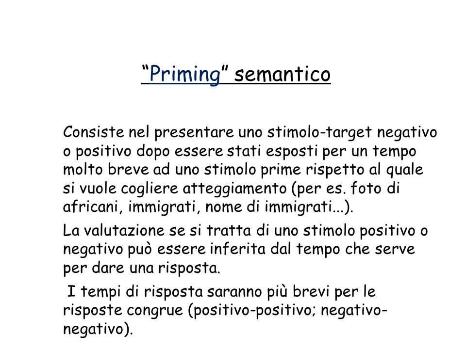 Priming semantico