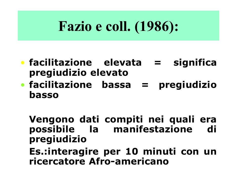 Fazio e coll. (1986): Dividono soggetti: