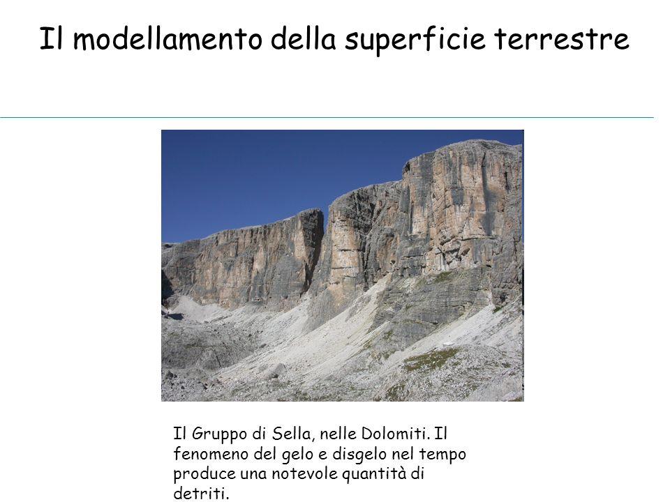 Il modellamento della superficie terrestre