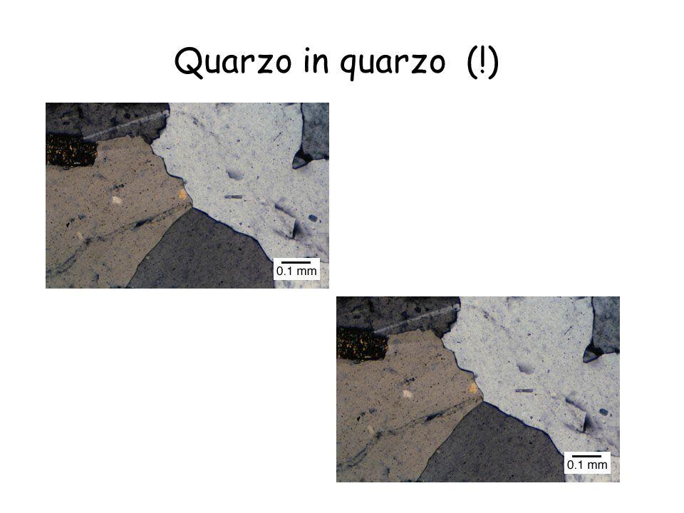 Quarzo in quarzo (!)