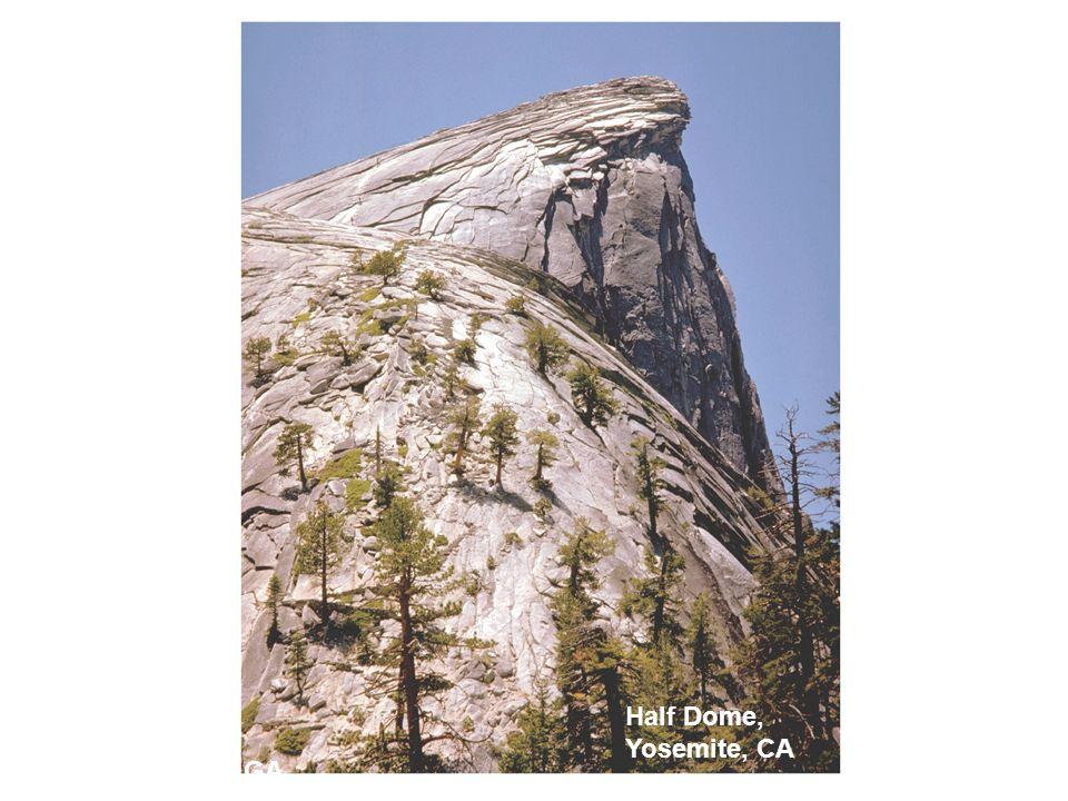 Half Dome, Yosemite, CA Stone Mountain, GA