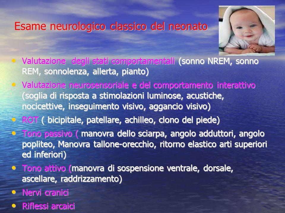 Esame neurologico classico del neonato