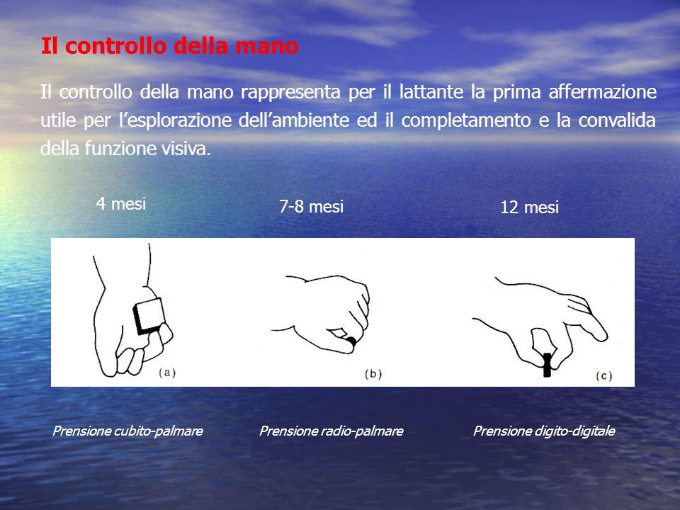 Il controllo della mano