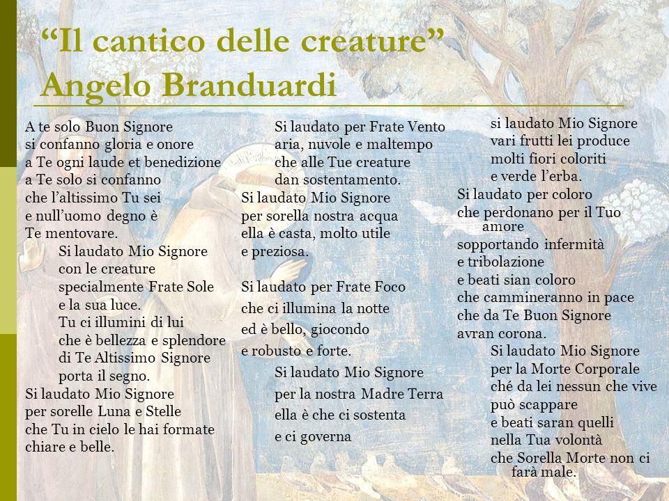 Il cantico delle creature Angelo Branduardi