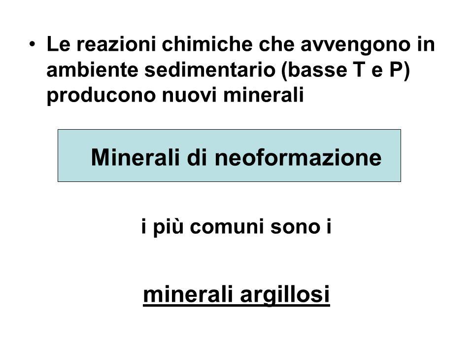 Minerali di neoformazione