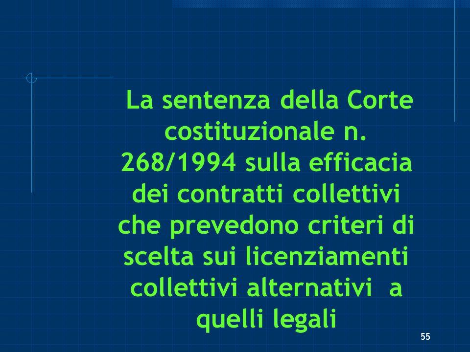 La sentenza della Corte costituzionale n