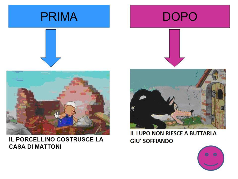PRIMA DOPO IL PORCELLINO COSTRUSCE LA CASA DI MATTONI