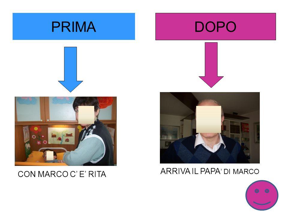 PRIMA DOPO ARRIVA IL PAPA' DI MARCO CON MARCO C' E' RITA