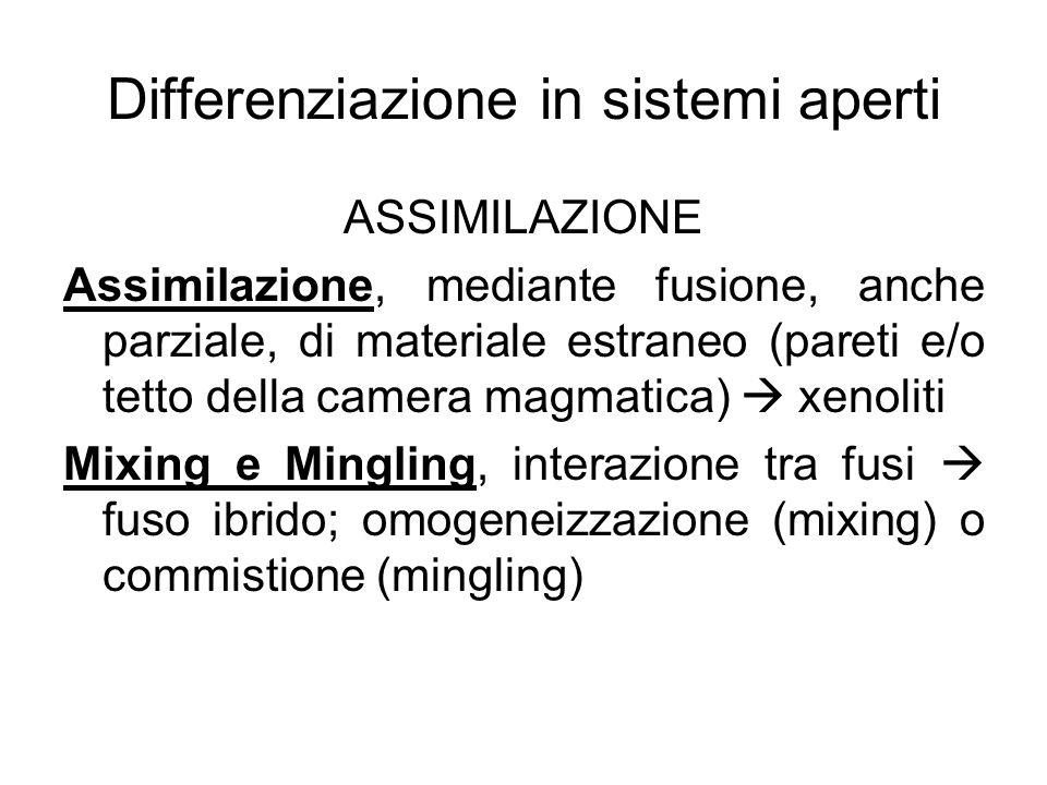 Differenziazione in sistemi aperti
