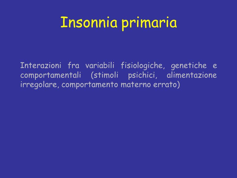 Insonnia primaria