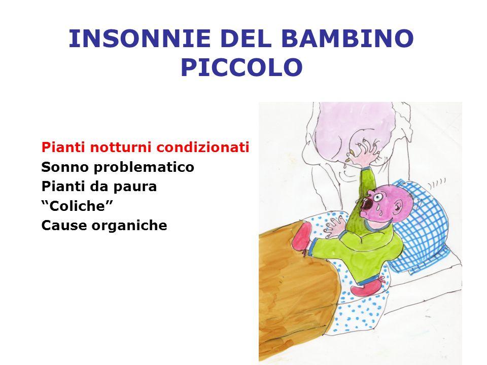 INSONNIE DEL BAMBINO PICCOLO