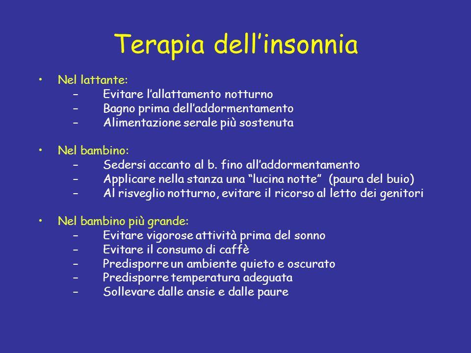 Terapia dell'insonnia
